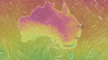 The heat is fuelling fire conditions across Queensland and parts of NSW.