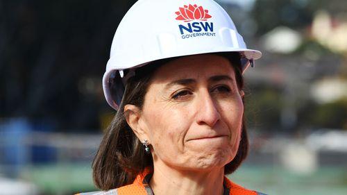 NSW Premier Gladys Berejiklian. (AAP)