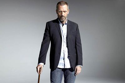 Hugh Laurie is best known in his native Britain as a comic actor, but in America he's best known as a dramatic actor — thanks to his role as the eponymous cranky doctor on the medical drama <i>House</i>.