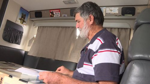 Alex Dawes bought his motorhome nearly five-years ago but says the new tax could stop others following in his footsteps. (9NEWS)