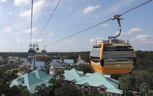 Passengers stranded mid-air after Disney gondola breaks down