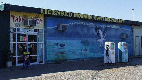 A restaurant in Burketown, Queensland. (AAP)