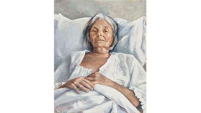 Peter Churcher, The last portrait.