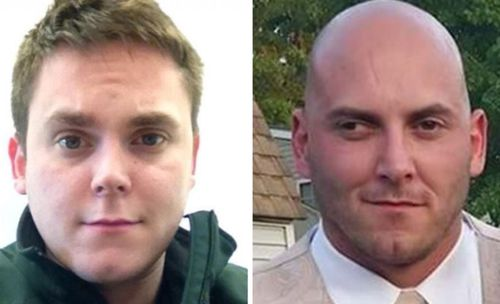 Victims Axel Steenburg, left, and his brother Rich Steenburg.