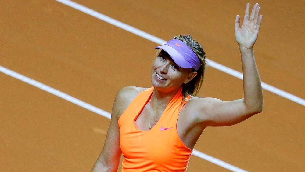 Maria Sharapova makes winning comeback from 15-month drug ban