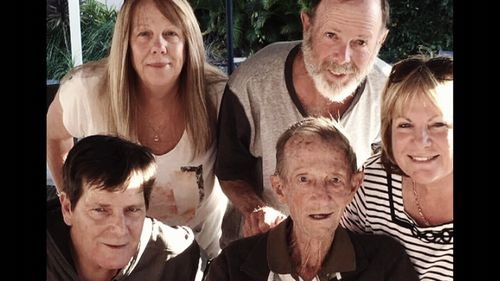 Leslie Page with loved ones.