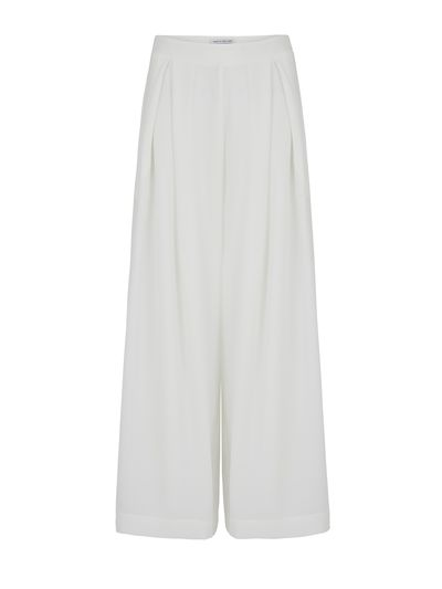 """<p><a href=""""https://www.orderofstyle.com/"""" target=""""_blank"""">Dolomite Drop Crotch Pant, $380, Camilla &amp; Marc</a></p>"""