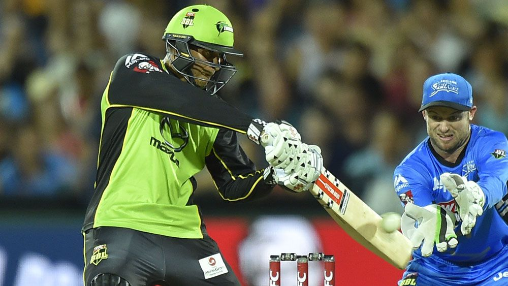 Thunder down Strikers in BBL semi-final