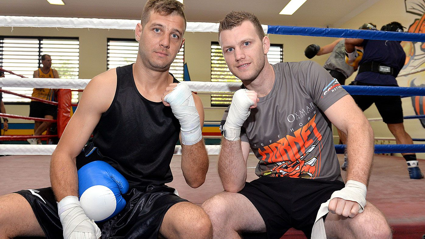 Jeff Horn with his brother Ben
