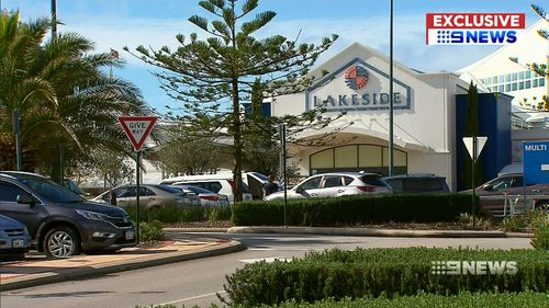 The mother-of-two works as a hairdresser in the Lakeside Joondalup centre and uses her lunch break to express milk. Picture: 9NEWS