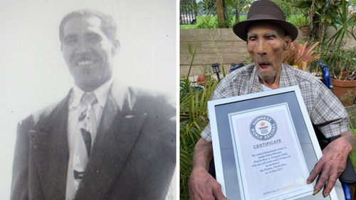 Puerto Rico's Emilio Flores Marquez has become the new Guinness World Records title holder for the oldest living man at 112 years and 326 days old.