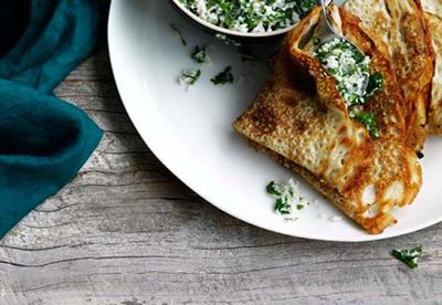 """Recipe:<a href=""""/recipes/icoconut/8301416/dosai-with-coconut-ginger-and-green-chilli-chutney"""" target=""""_blank"""" draggable=""""false"""">Dosai with coconut, ginger and green chilli chutney</a>"""