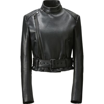 "<p>Biker babe</p> <p>Carine's rider jacket, $129.90, <a href=""http://www.uniqlo.com/au/store/women-carine-riders-jacket-1913590004.html"" target=""_blank"">Uniqlo</a></p>"