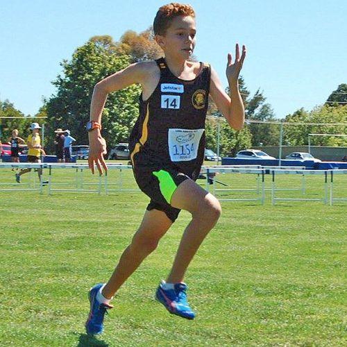 A promising athlete, Elijah Arranz wanted to become a marathon runner.
