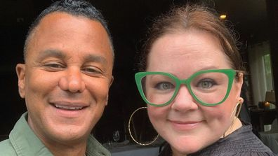 Yanic Truesdale and Melissa McCarthy