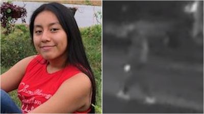 CCTV shows suspect in abduction of missing US teen