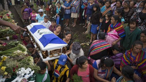 Almost 100 people have been confirmed dead after the Guatemala volcano erupted.