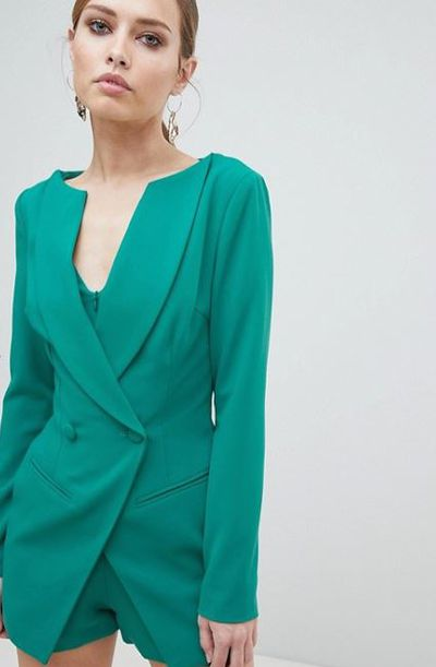 "<a href=""http://www.asos.com/au/lavish-alice/lavish-alice-double-breasted-blazer-style-playsuit/prd/9319200?clr=green&amp;SearchQuery=blazer%20dress&amp;gridcolumn=4&amp;gridrow=3&amp;gridsize=4&amp;pge=1&amp;pgesize=72&amp;totalstyles=20"" target=""_blank"" title=""Lavish Alice Double Breasted Blazer Style Playsuit in Green, $180"" draggable=""false"">Lavish Alice Double Breasted Blazer Style Playsuit in Green, $180</a>"