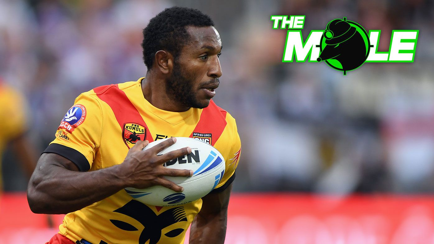 Edwin Ipape in action for PNG.