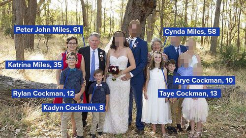 Seven members of the same family were found dead at a property near Margaret River in Western Australia in May.