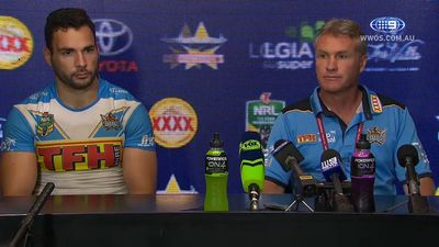 NRL coach Garth Brennan slams Gold Coast Titans' 'schoolboy' errors in loss to North Queensland Cowboys