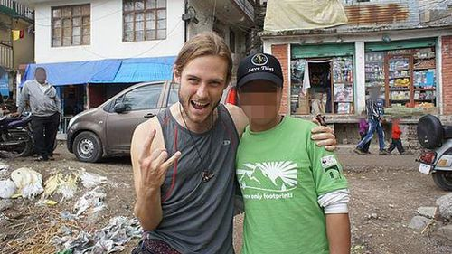 In his online profile, the 26-year-old talks of a love of travel, yoga and music.