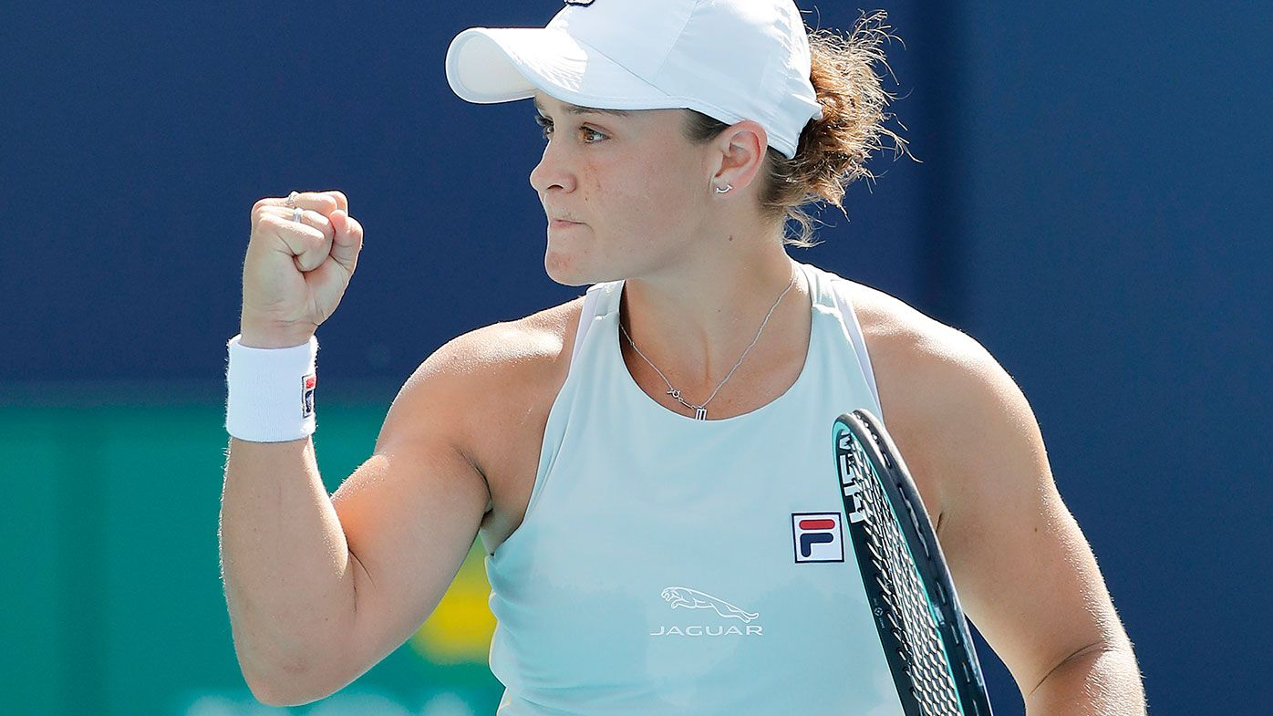 Australia's Ash Barty is the top seed for Wimbledon.