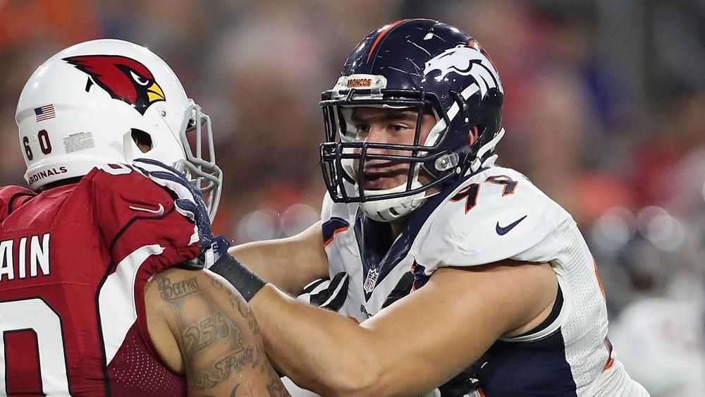 Australian defensive end Adam Gotsis made the cut at Super Bowl champions Denver Broncos.(Getty)