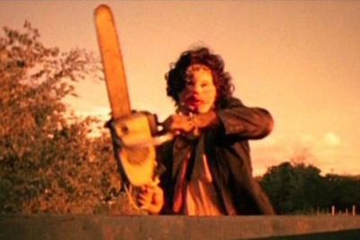 In <i>The Texas Chain Saw Massacre</i>, a group of friends find themselves being chased down by a crazed man with a chainsaw. This is not a film for the squeamish! But if you're into it, there are seven more gory flicks in the franchise to tide you over.