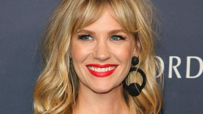 January Jones - happily single but one day ... Image: Getty.
