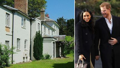 Frogmore Cottage, the home of Meghan and Harry, Duke and Duchess of Sussex