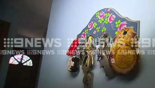 The intruder tried to remove Ms Warncken's car keys from its keyring.
