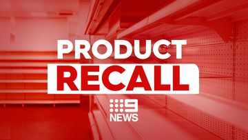 9News product recall graphic