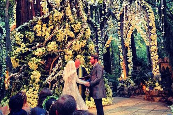Sean Parker at his Middle Earth-inspired wedding. (Valleywag)