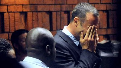 February 22, 2013: Pistorius is granted bail by a magistrate. It is set at one million rand ($100,000, 75,000 euros) after the sprinter spent more than a week in custody and sat through a tense four-day bail hearing. (Getty)