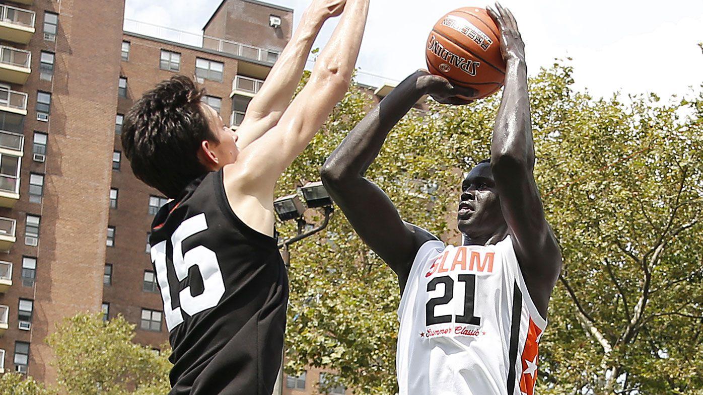 Australian prospect Makur Maker, cousin of Thon Maker, enters NBA draft
