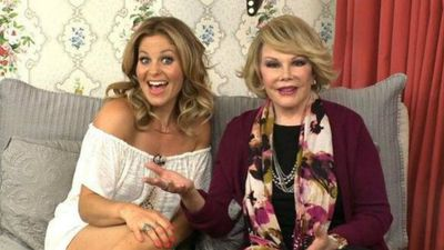 @candacecbure Of all the interviews over the years, this recent one with Joan Rivers was one of my favorites http://youtu.be/75GfzbyGccM  pic.twitter.com/rGvpOD91EF (Twitter)