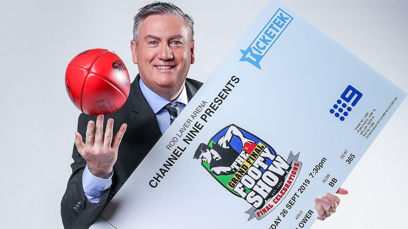 Eddie McGuire, Sam Newman and Trevor Marmalade reunite for AFL Grand Final Footy Show