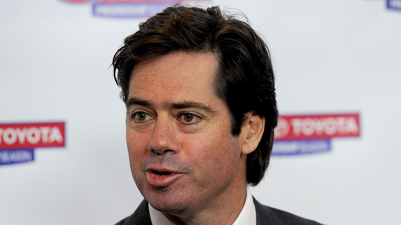 Gillon McLachlan addresses media