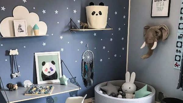 Kids' rooms can be havens ... Image: Instagram/@madelen88