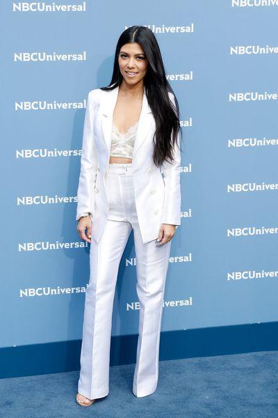 Kourtney Kardashian at the NBC Universal 2016 Upfront in New York, May, 2016