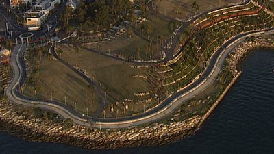 The revitalised parkland is nearly six hectares in size. (9NEWS)