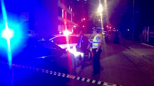 There is a heavy police presence in the area. (9NEWS / Airlie Walsh)
