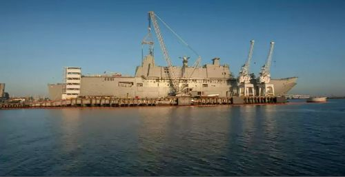 Adelaide is set for a major jobs boost as the Federal government announces a $35 billion shipbuilding contract with British defence company BAE Systems. Picture: 9NEWS.