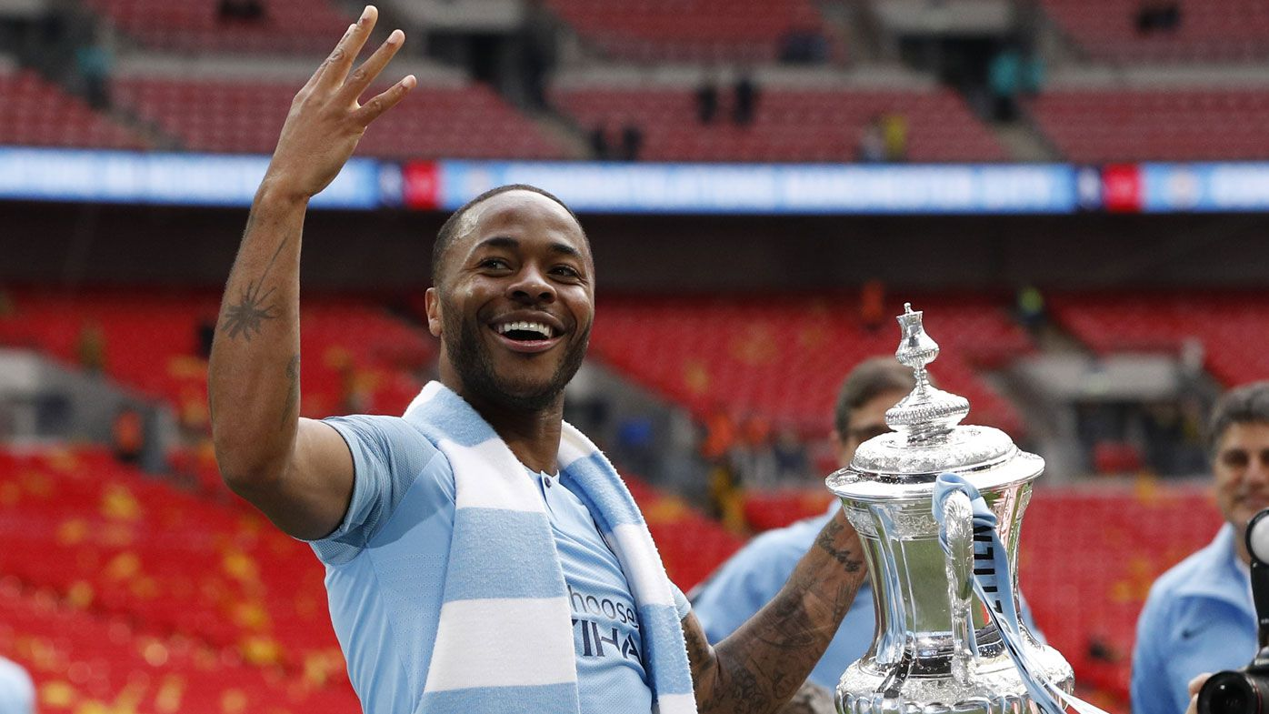 Manchester City crush Watford 6-0 in FA Cup final as Raheem Sterling scores hat-trick