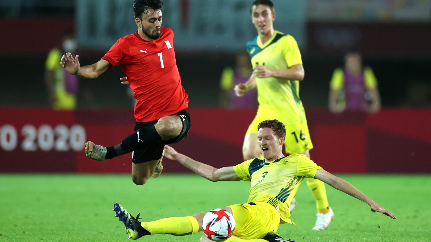 The Olyroos were let down in a lacklustre first half against Egypt.