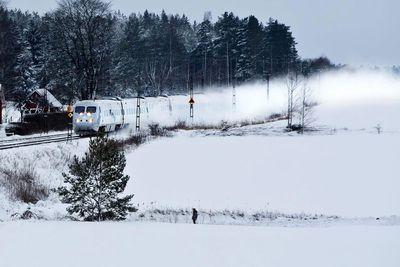 SJ Train --Malmö, Sweden to Narvik, Sweden
