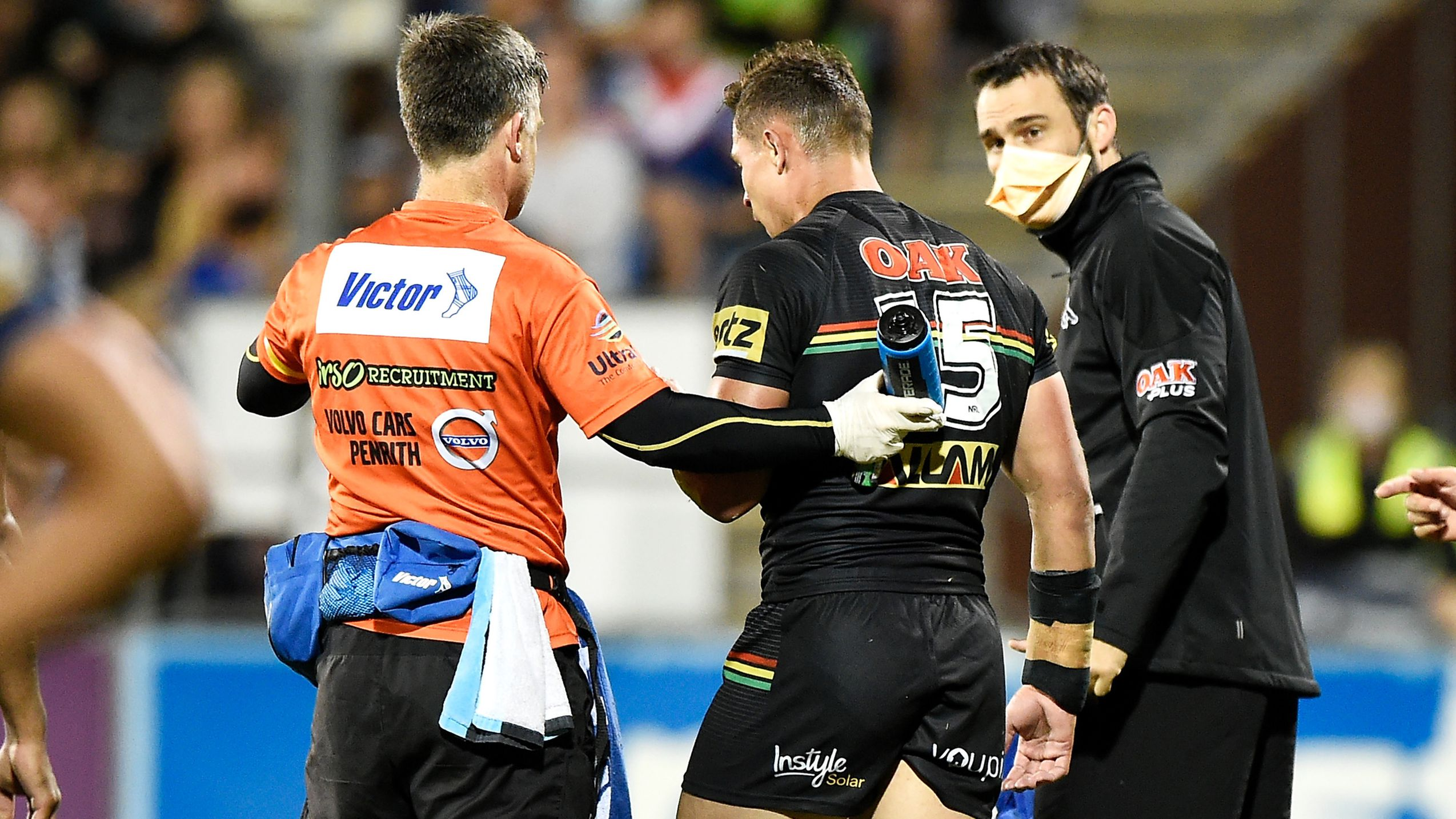 NRL slaps Penrith trainer with suspension and fines club for controversial semi-final stoppage