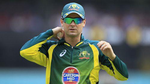 Michael Clarke backs away from talk of Australia return