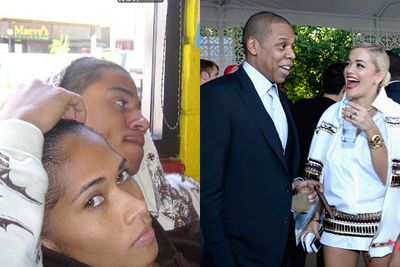 Over the years, many women have come forward claiming Jay Z cheated with them. The most damning allegation was that Jay fathered a child to Trinidadian model Shenelle Scott back in 2001. The rumour emerged in September 2011, just after Bey and Z announced they were expecting. Jay's rep denied it.<br/><br/>Jay has been linked to everyone from Rihanna to Rita Ora. However, in April 2014, Rita addressed the rumours on US radio show Power 105 FM: 'Don't you dare disrespect Beyonce like that ever again in your entire life.'<br/><br/>Images: Facebook/Getty